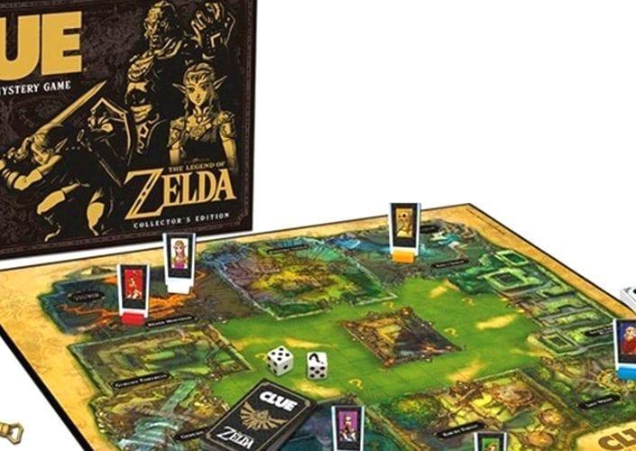 clue jogo tabuleiro zelda