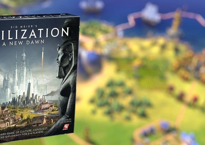 jogo de tabuleiro Civilization