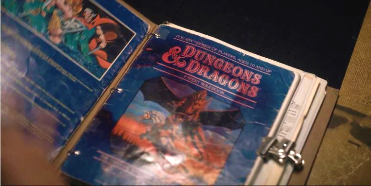 dungeons and dragons no Stranger Things