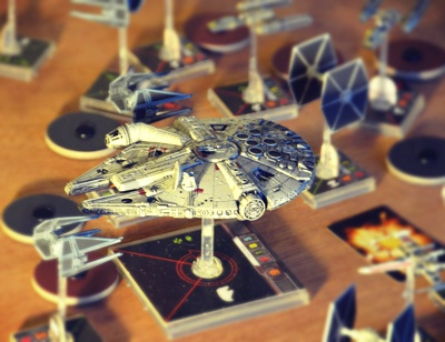miniaturas do x-wings