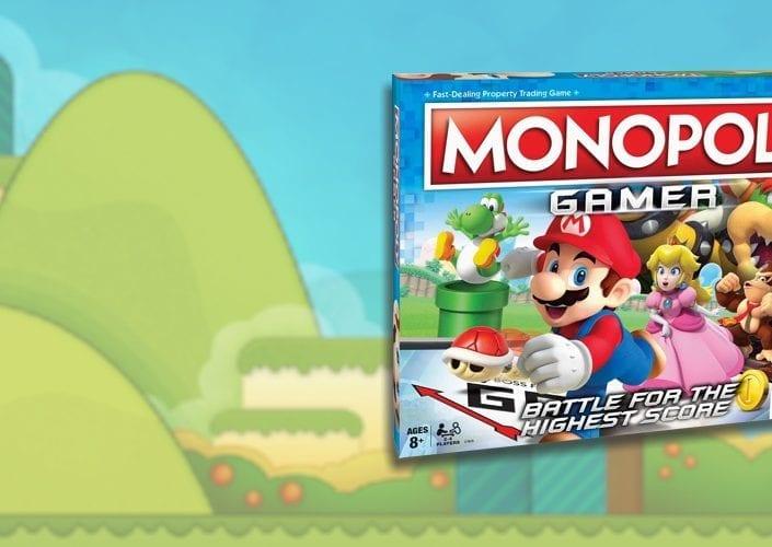 Monopoly Gamer Super Mario - Metropoly Bar