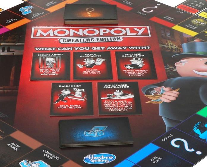 Metropoly - Monopoly Cheaters - Tabuleiro e Caixa