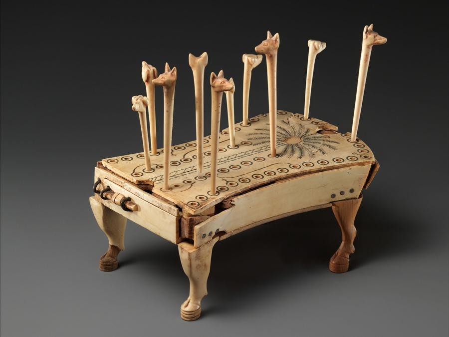jogo de tabuleiro 58 buracos - egito antigo