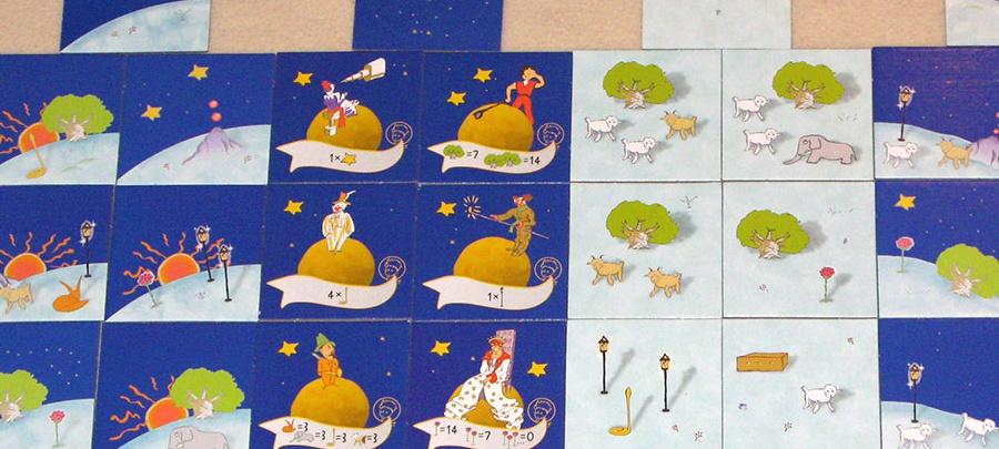 METROPOLY - Pequeno Principe - cartas do jogo
