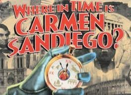 Where in time is Carmen Sandiego Image